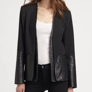 Parker Leather Blazer